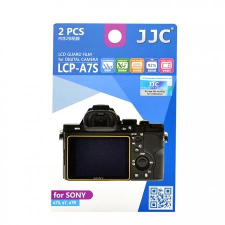 JJC - Folie protectie LCD pentru Sony A7S/ A7/ A7R, 2 buc.
