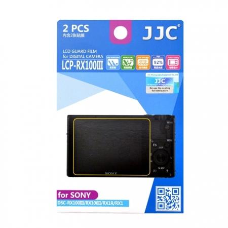 JJC - Folie protectie LCD pentru Sony RX100IV/ RX100III, 2 buc.