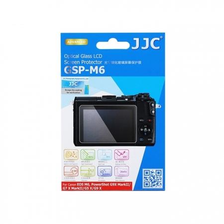 JJC - Folie protectie ecran din sticla optica pentru Canon EOS M6, PowerShot G9 X MarkII/ G7 X MarkII/ G5 X/ G9 X