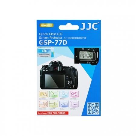 JJC - Folie protectie ecran din sticla optica pentru Canon EOS 77D