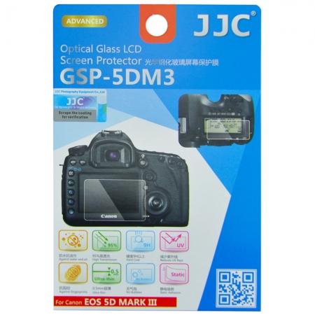 JJC Folie protectie ecran sticla optica pentru Canon EOS 5D MARK III