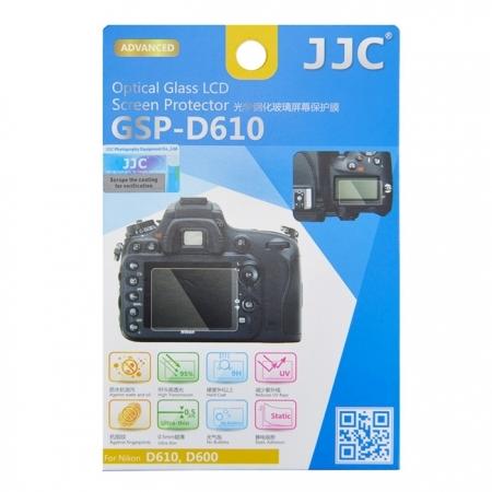 JJC Folie protectie ecran sticla optica pentru Nikon D610,D600