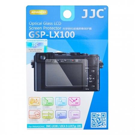 JJC Folie protectie ecran sticla optica pentru Panasonic DMC-LX100