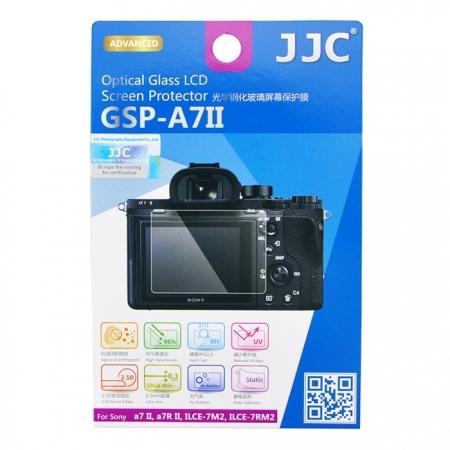 JJC Folie protectie ecran sticla optica pentru Sony A7II