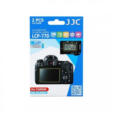 JJC - Folie protectie ecran pentru Canon EOS 77D/ 9000D