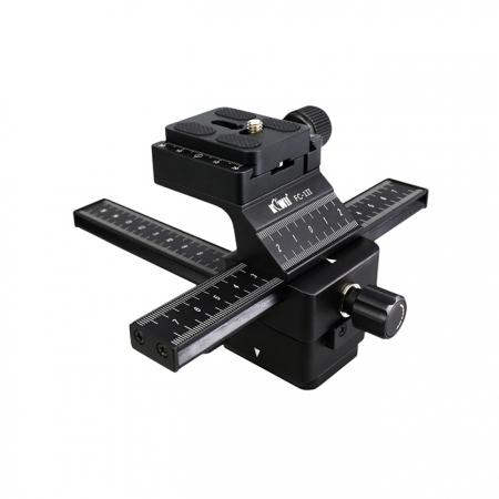 JJC Kiwi FC-1II Macro Focusing Rail - Sistem sine pentru fotografia macro
