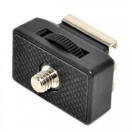 JJC MSA-9 - Adaptor cu filet tata 1/4 si patina
