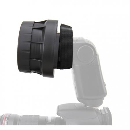 JJC Sistem grid 3-in-1 pentru blit 49mm