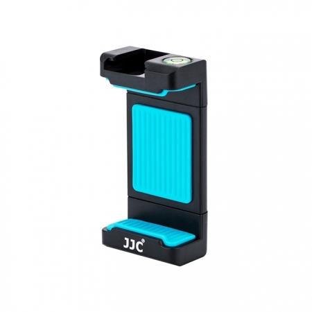 JJC SPC-1A - Suport telefon cu patina pentru lampa, albastru