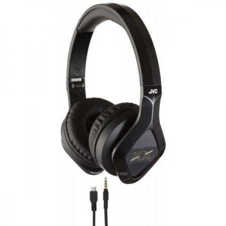 JVC Extreme-Explosive - Casti stereo - negru HA-SBT200X-E