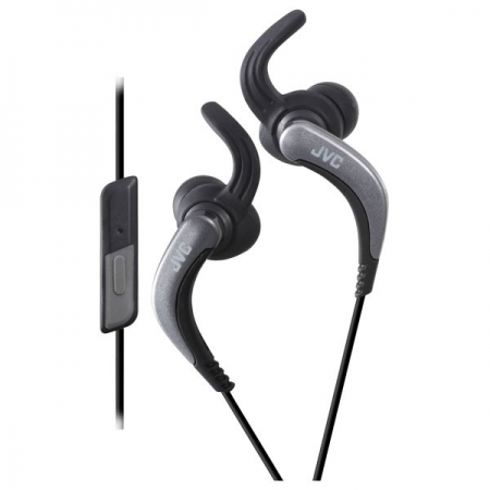 JVC HA-ETR40-B-E  Casti sport in-ear lavabile, telecomanda si microfon pe fir - negru