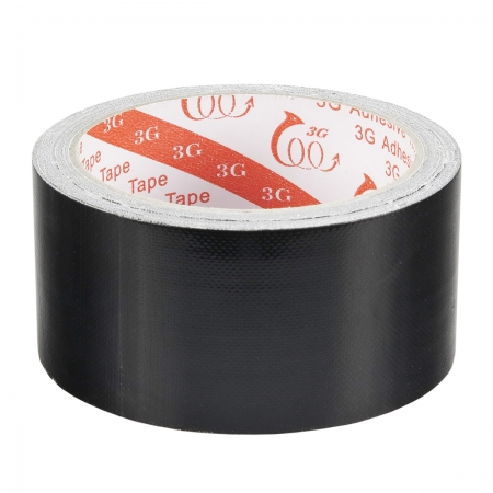 Kathay Cloth Adhesive Tape Black - banda adeziva negru mat 10m x 48mm