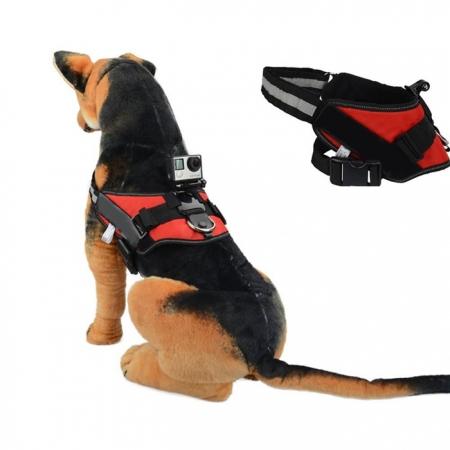 Kathay Gopro Dog harness Strap - rosu