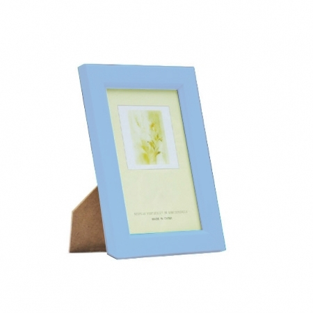 Kathay Photo Frame solid color blue 10x15