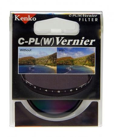 Kenko Filtru Vernier Pol Circ 39mm RS12107379