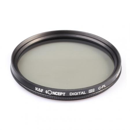 KentFaith - Filtru de polarizare circulara standard, 49mm