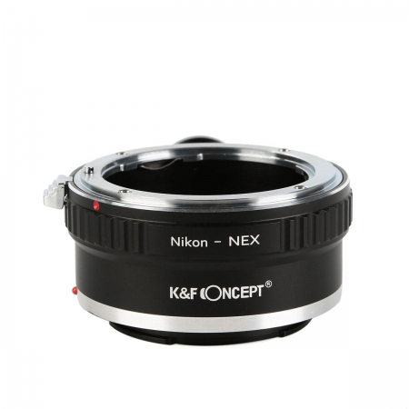 KentFaith - Inel adaptor Nikon AI/ AI-S la Sony NEX (cu inel trepied)