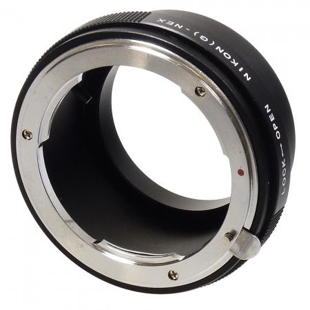 KentFaith N/G-NEX - inel adaptor Nikon G - Sony E Nex