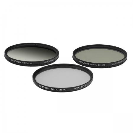 KentFaith UV + CPL + G-Gray 58mm