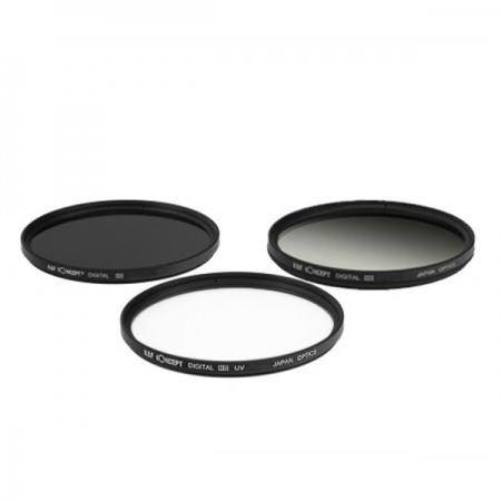KentFaith UV+CPL+G-Gray 72mm