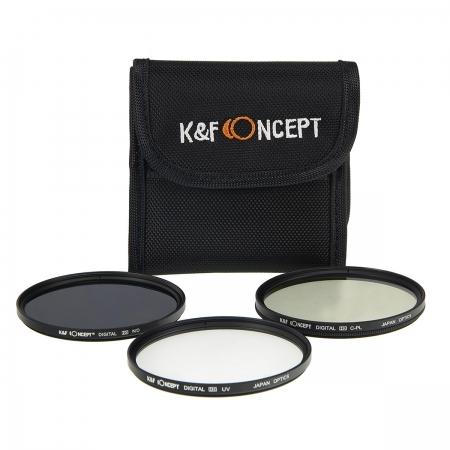 KentFaith UV + CPL + ND4 52mm