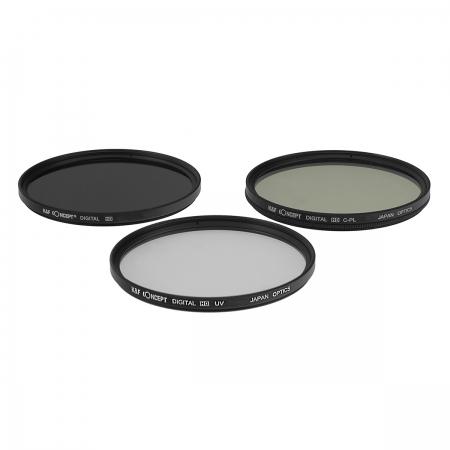 KentFaith UV + CPL + ND4 77mm