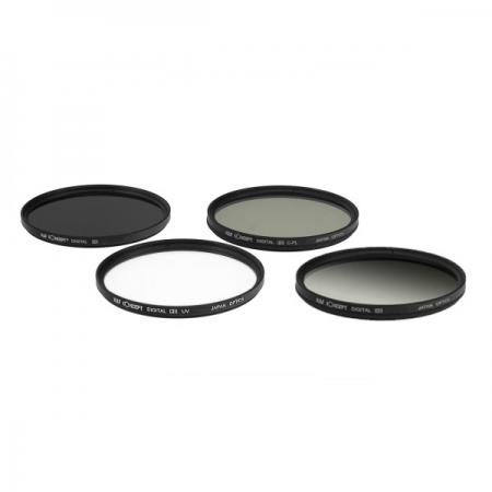 KentFaith UV + CPL + ND8 + G-Gray 49mm