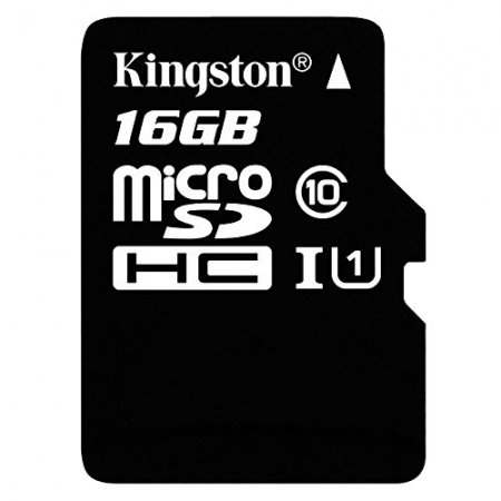 Kingston 16GB microSDHC, Class 10 UHS-1 45MB/s