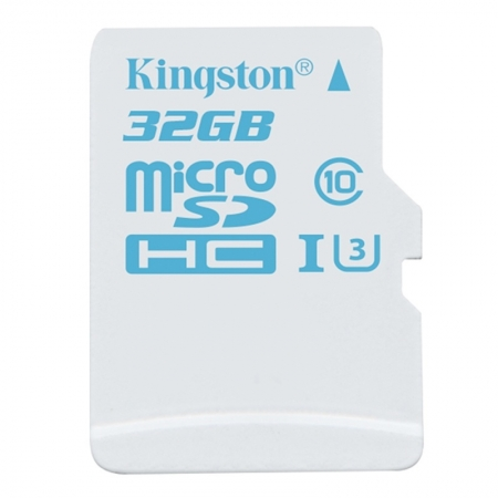 Kingston 32GB microSDHC Action Card, UHS-I, U3