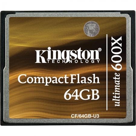 Kingston CF Ultimate 64GB 600x cu MediaRECOVER - BULK125025468