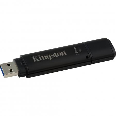 Kingston DataTraveler 4000G2 with Management 16GB, 256-bit AES Encryption