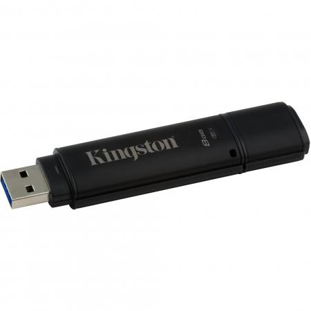 Kingston DataTraveler 4000G2 with Management 8GB, 256-bit AES Encryption