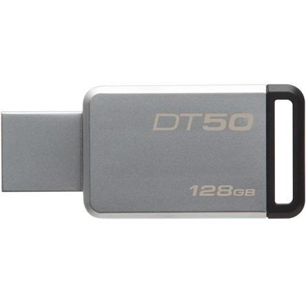 Kingston DataTraveler 50 128GB, USB 3.0 (Metal/ Negru)