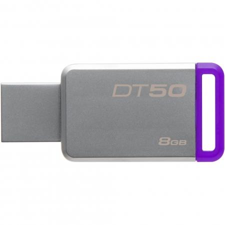 Kingston DataTraveler 50 8GB, USB 3.0 (Metal/ Mov)
