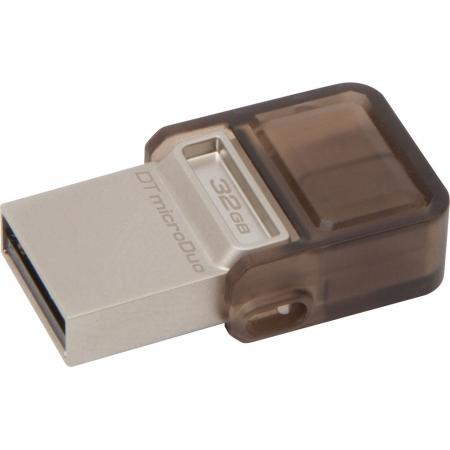 Kingston DataTraveler microDuo - stick de memorie USB 2.0 - microUSB 32GB