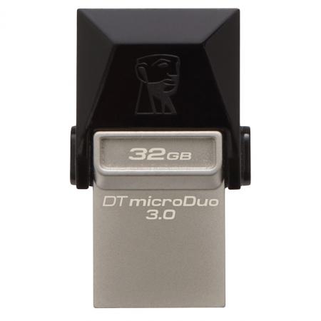 Kingston DataTraveler microDuo - stick de memorie USB 3.0 - microUSB 32GB