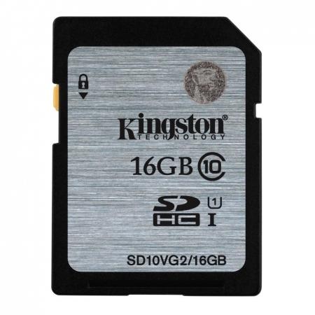 Kingston SDHC 16GB, Class 10, UHS-I, citire 45MB/s