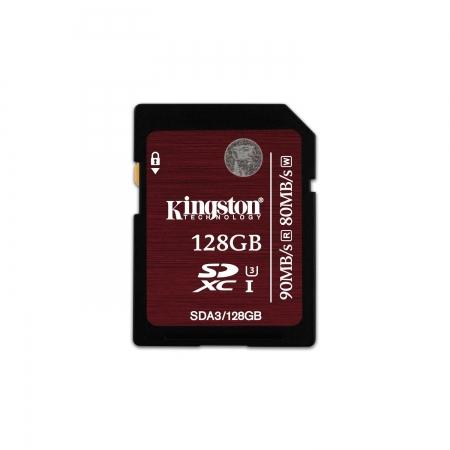 Kingston SDXC 128GB Class 10 UHS-I 90MB/s BULK125026327