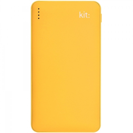 Kit Fresh - Acumulator portabil universal, 12000 mAh, Dual USB, Qualcomm Quick Charge 2.0, Galben