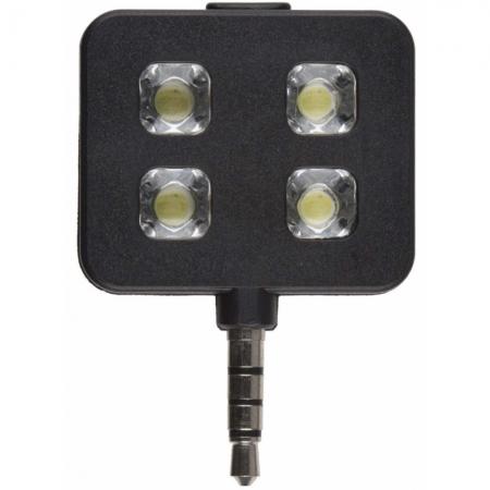Kit Vision Selfie flash LED pentru smartphone-uri si tablete - Negru