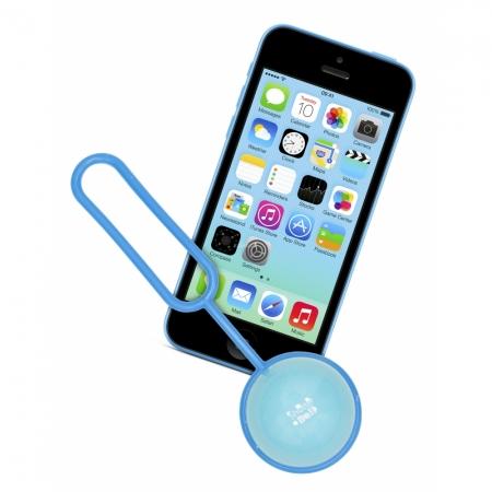 Kit Vision ShutterBall - telecomanda bluetooth pentru telefoane mobile - albastru