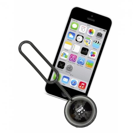 Kit Vision ShutterBall - telecomanda bluetooth pentru telefoane mobile - negru