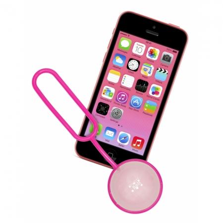 Kit Vision ShutterBall - telecomanda bluetooth pentru telefoane mobile - roz