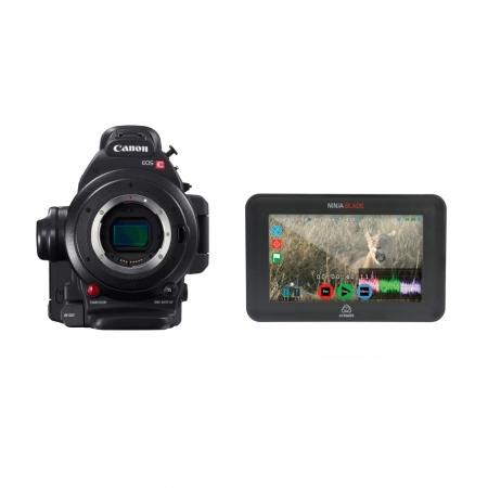 Kit Canon EOS C100 Mark II + monitor Atomos Ninja Blade