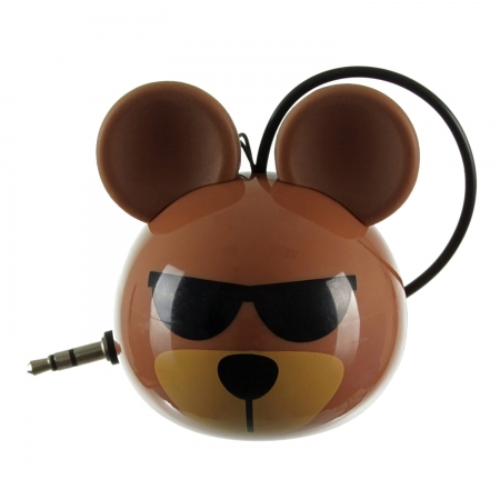 KitSound Mini Buddy Bear Speaker - boxa portabila cu jack 3.5mm