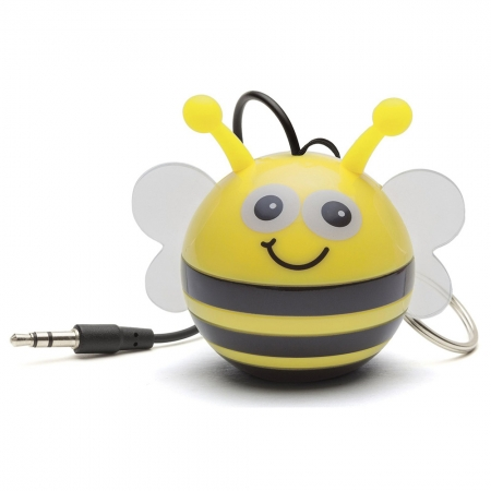 KitSound Mini Buddy Bee Speaker - boxa portabila cu jack 3.5mm