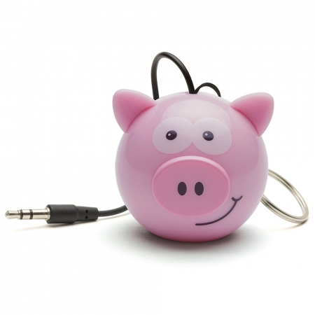 KitSound Mini Buddy Pig Speaker - boxa portabila cu jack 3.5mm