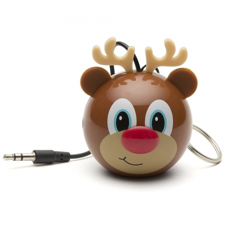 KitSound Mini Buddy Reindeer Speaker - boxa portabila cu jack 3.5mm
