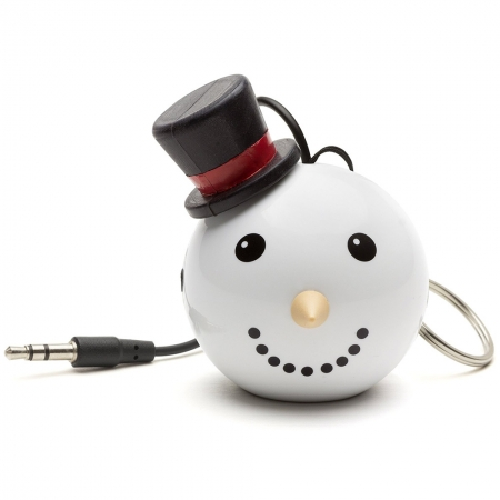 KitSound Mini Buddy Snowman Speaker - boxa portabila cu jack 3.5mm