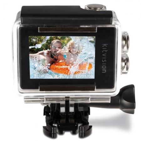 KitVision Action Camera Waterproof – Camera actiune - Alb